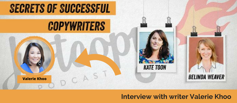 E18 Valerie Khoo: How to be a better writer (Interview)