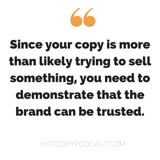 Build trust with your copy