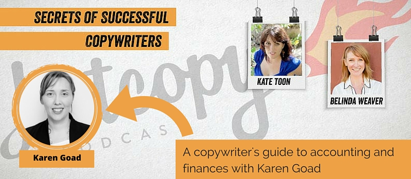 Podcast 32: A copywriter's guide to accounting and finances