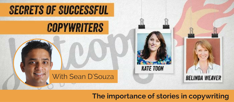 E43: Sean D'Souza: The importance of stories in copywriting
