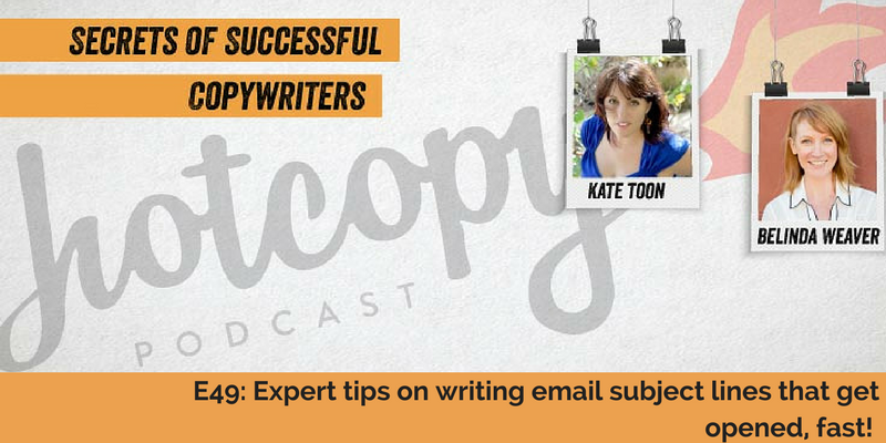 E49: Expert tips on writing email subject lines that get opened, fast!