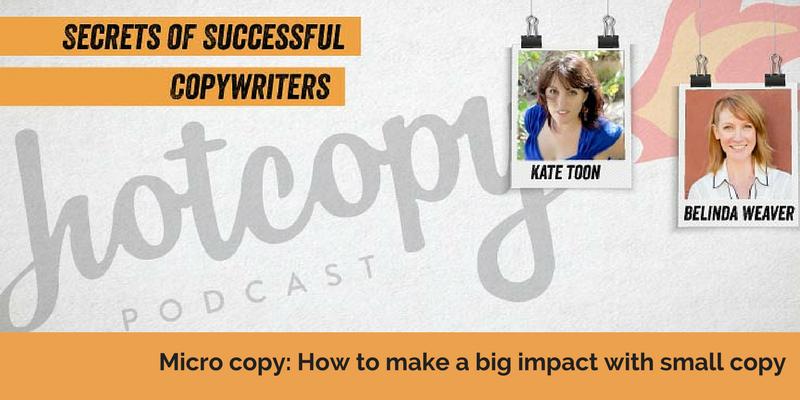 E72: Micro copy: How to make a big impact with small copy