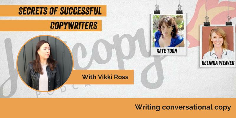E73: Writing conversational copy with Vikki Ross