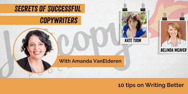 E82: 10 tips on Writing Better with Amanda VanElderen