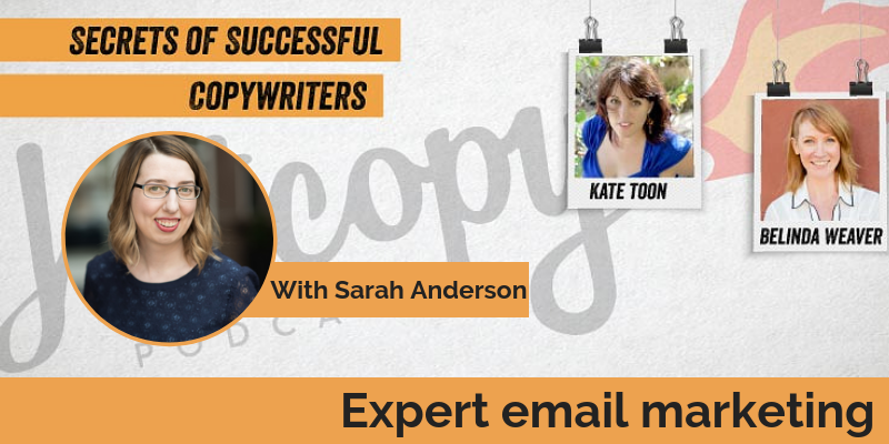E85: Expert email marketing: Sarah Anderson