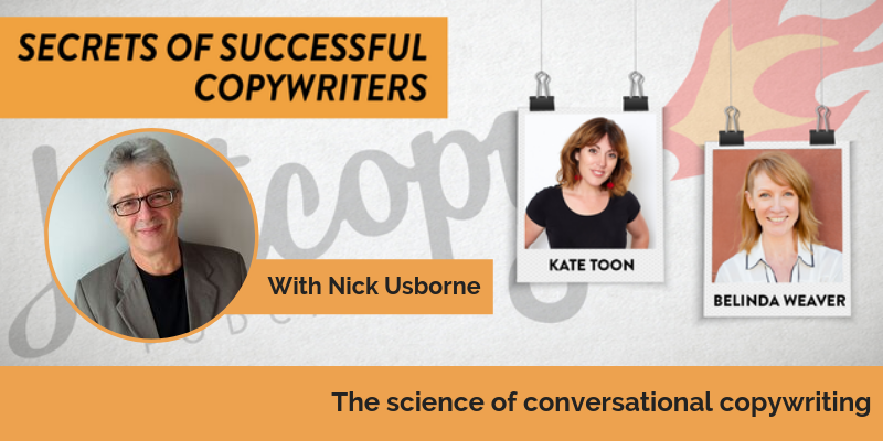 E88: The science of conversational copywriting with Nick Usborne