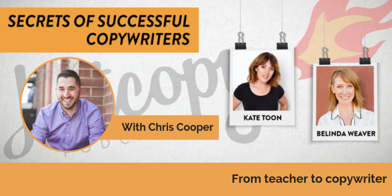 E90: From teacher to copywriter: Chris Cooper
