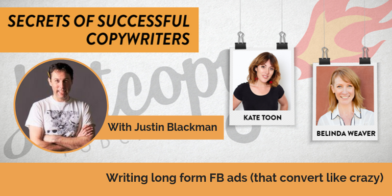 E92: Writing long form FB ads (that convert like crazy): Justin Blackman
