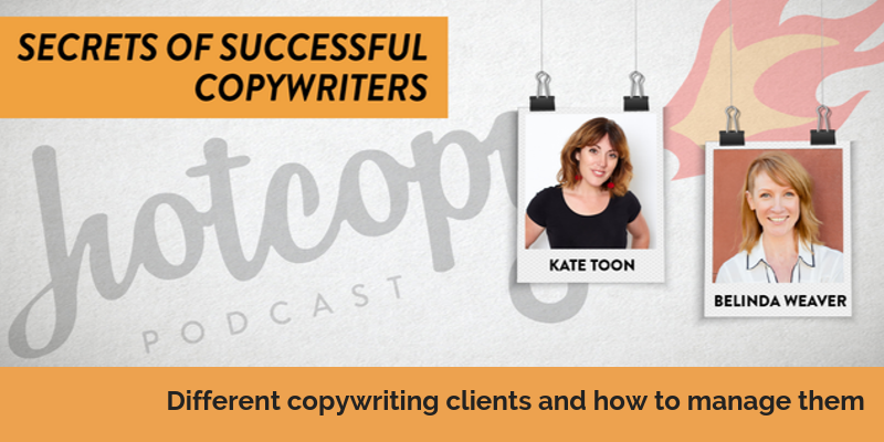 E94: Different copywriting clients and how to manage them
