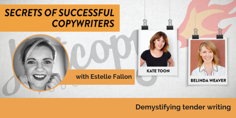 E112: Demystifying Tender Writing with Estelle Fallon