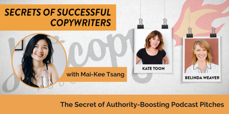 E118: The secret to authority-boosting podcast pitches with Mai-Kee Tsang